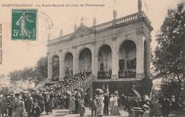 PONTCHATEAU La Scala-Sancta Un Jour De Pèlerinage Circulée Timbrée 1910 - Pontchâteau