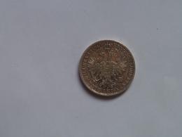 Austria 1Fl Florin 1860 Silver Franz Joseph I Ferencz Jozsef - Austria