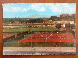 ROMA Impianti Sportivi Olimpici Tennis  Cartolina 1962  Viaggiata - Stades & Structures Sportives