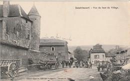 JEANDELINCOURT Vue Du Haut Village Circulée 1914 ( Charrette ...) - France
