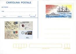 59907) ITALIA -INTERO POSTALE DA 700 LIRE Centenario Del Servizio Postale Sulle Navi Della Marina Militare -26 Settembre - Ganzsachen