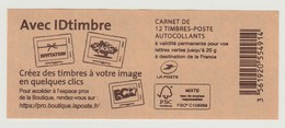 FRANCE - CARNET N° 858 C15 - NEUF** NON PLIE - Marianne De Ciappa-Kawena - - Usados Corriente