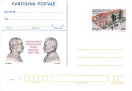59906) ITALIA -INTERO POSTALE DA 700 LIRE Fondazione Omar - Cartolina Postale - 18 Settembre 1993 - Ganzsachen