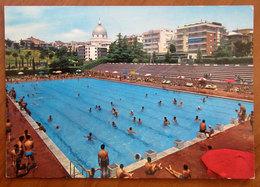 ROMA EUR Piscina Delle Rose  Cartolina 1971  Viaggiata - Stades & Structures Sportives