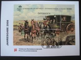 Österreich- VÖPh Jahresgabe 2008 Gemeinsame Tschechisch-österreichische Ausgabe - 1945-.... 2. Republik