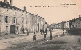 BLENOD LES PONT A MOUSSON Intérieur Du Village Circulée 1915 - Pont A Mousson