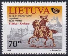 LITAUEN 1998 Mi-Nr. 676 ** MNH - Lithuania