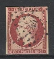 Napoléon III N° 17A Carmin 1854 - 1853-1860 Napoléon III