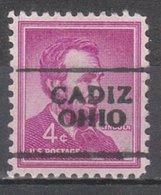 USA Precancel Vorausentwertung Preo, Locals Ohio, Cadiz 701 - United States