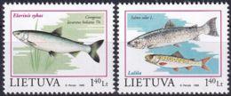 LITAUEN 1998 Mi-Nr. 671/72 ** MNH - Lithuania