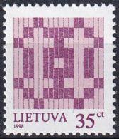 LITAUEN 1998 Mi-Nr. 670 ** MNH - Litauen