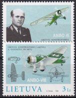 LITAUEN 1998 Mi-Nr. 662/63 ** MNH - Litauen