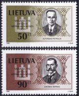LITAUEN 1998 Mi-Nr. 658/59 ** MNH - Litauen