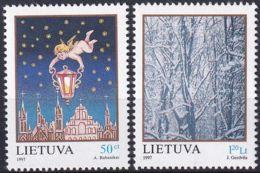 LITAUEN 1997 Mi-Nr. 655/56 ** MNH - Litauen