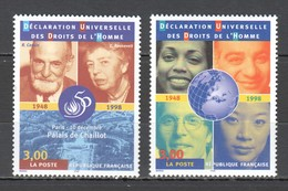 VV996 !!! ONLY ONE IN STOCK 1998 FRANCE DECLARATION OF HUMAN RIGHTS 1SET MNH - Vereine & Verbände