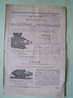 APPAREILS DE PROJECTIONS ET DE PHOTOGRAPHIE.  101_0083.231005HOR - Altri