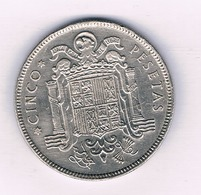 50 PESETAS  1949 (ster 50) SPANJE /4014/ - [ 5] 1949-… : Koninkrijk