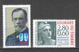 WW024 !!! ONLY ONE IN STOCK 1995 FRANCE LOUIS PASTEUR MARIANNE DE GANDON 2ST MNH - Louis Pasteur