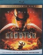 DVD BLU RAY Les Chroniques De Riddick - Ciencia Ficción Y Fantasía