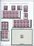 PREOBLITERE - TYPE COQ - étude Sur Le 15 F. - 1953-1960