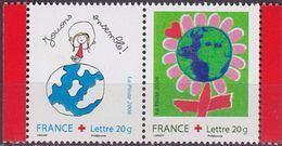 """FR YT P3991 La Paire """" Croix-Rouge  """" 2006 Neuf** - France"""