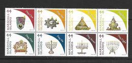 ILES MARSHALL 2011 HANUKKAH  YVERT N°2767/74 NEUF MNH** - Judaisme