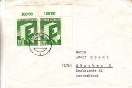 Autriche - Lettre De 1958 - Europa - Oblit Salzburg - - 1945-60 Storia Postale