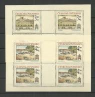 1980 MNH  Tschechoslowakei, Bratislava,  Postfris** - Blocks & Kleinbögen
