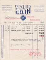 02-Biscuits Belin....Château-Thierry..(Aisne)...1950 - Lebensmittel