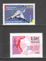WW203 !!! ONLY ONE IN STOCK 1997,2007 FRANCE SPORTS JUDO HANDBALL 2ST MNH - Judo