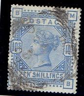 TP GRANDE BRETAGNE N° 188 - OBLITERE - TTB - 1840-1901 (Viktoria)