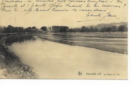 HERMALLE  S/ ARGENTEAU     La Meuse Et L' Ile. - Oupeye