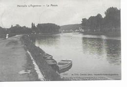 HERMALLE  S/ ARGENTEAU   La Meuse. - Oupeye