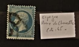05 - 20 // France N° 22 Oblitération D'Espagne - Roue De Charette - Cote 45 Euros - 1862 Napoléon III
