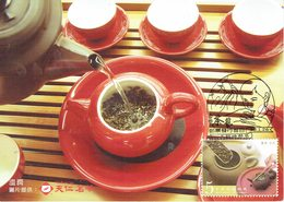 31D: CM,Carte Maximum Card,Chinese Tea, Tea Leaf Beeverage Drink, Maxi Card, MC - Drinks