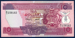 SOLOMON ISLANDS 10 DOLLARS P-15 1986 UNC - Solomonen