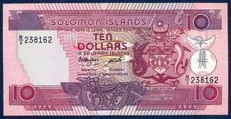 SOLOMON ISLANDS 10 DOLLARS P-15 1986 UNC - Solomon Islands