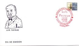 FDC LUIS PASTEUR 1995 MESSICO COVER    (MAGG20377) - Louis Pasteur