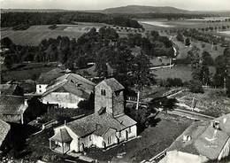 Grd For-ref Z595- Vosges - En Avion Au Dessus De Dompaire -eglise De Lavieiville - - Autres Communes