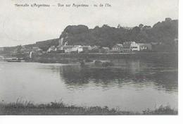 HERMALLE  S/ ARGENTEAU    Lvue Sur Argenteau   Vu De L' Ile. - Oupeye