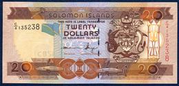 SOLOMON ISLANDS 20 DOLLARS P-28b 2011 UNC - Solomon Islands