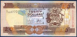 SOLOMON ISLANDS 20 DOLLARS P-28a 2004 UNC - Solomon Islands