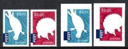 Australie Australia 4385/88 Timbres + Autoadhésifs Ornithorynque, échidné - Unclassified