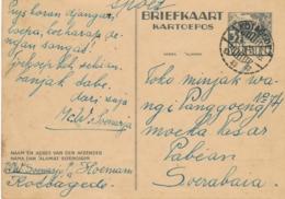 Nederlands Indië - 1938 - 3,5 Cent Karbouwen, Briefkaart G63 Van LB KOTAGEDE Naar Soerabaja - Indes Néerlandaises