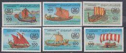 Libye N° 1118 / 23 XX Rétrospective D'anciens Bateaux , La Série Des 6 Valeurs Sans Charnière, TB - Libyen