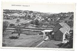 OLNE (4877) Saint HADELIN Panorama II ( Vue De L ' église Vers L ' école ) - Olne