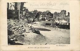 - Dpts Div -ref-AR891- Vosges - La Fontenelle - Les Ruines - Guerre 1914-18 - - Autres Communes