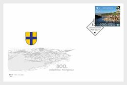 Kroatië / Croatia - Postfris / MNH - FDC 800 Jaar Novigrad 2020 - Croazia