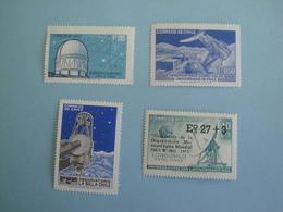 Chili  Astronomie  Yv 374 - 389 - 401 - 407 ** MNH  - Michel 765 - 780 - 790 - 795  Télécom SCott Et SG Voir Descriptif - Chili