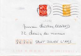 N° 4297 Adh Y. Et T. 35 Rennes CTC Flamme Muette Du 09/06/2009 - 1961-....